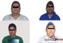 Logran captura de 4 delincuentes en la ciudad de Salina Cruz