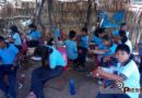 Estudiantes toman clases en aulas de palma y carrizo , autoridades se olvidaron de la reconstrucción