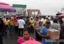 Bloquean maestros accesos al Istmo de Tehuantepec