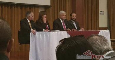 Presenta AMLO Agenda Legislativa para próximo congreso.