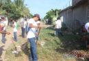 Continuan con la limpieza de basureros clandestinos