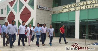 Coadyuva Emilio Montero para inicio de operaciones del Hospital General