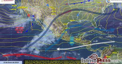 Se prevén tormentas puntuales fuertes en el oriente y sureste de México