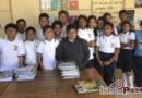 Estudiantes de primaria realizanpoemario para preservar su lengua materna, el zapoteco
