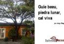 Guie beeu, piedra lunar, cal viva / por Jorge Magariño