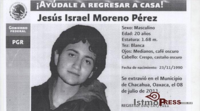 Llaman a Fiscal de Oaxaca a juicio constitucional por evadir recomendación del caso de joven desaparecido