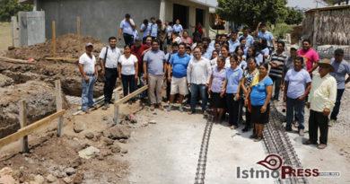 Reactiva Pável Meléndez reconstrucción de Telebachillerato de #Tehuantepec