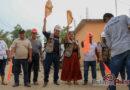 Con inversión de 1 millón 430 mil pesos, el Ayuntamiento amplia red de energía eléctrica en la colonia 5 de febrero