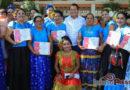 Asiste Emilio Montero a entrega de constancias del Programa Avancemos por la igualdad, patrocinado por ONU Mujeres