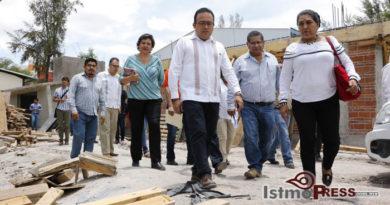 Unir a los tres órdenes de gobierno para reconstruir a la Mixteca: Pável Meléndez