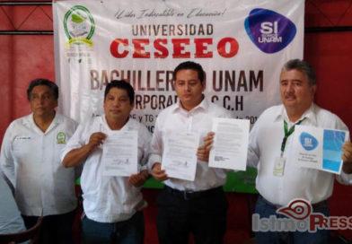 Bachillerato Andrés Henestrosa de la familia CESEEO se incorpora a la CCH UNAM.