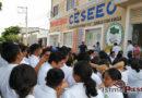 Escuelas, oficinas y tiendas de Juchitán participan en simulacro nacional