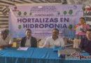 Gobierno de Juchitán y Unideal inauguran diplomado para producción de hortalizas por hidroponía