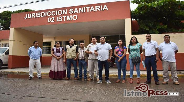 23 Oct Juchitán Jurisdicción sanitaria 02
