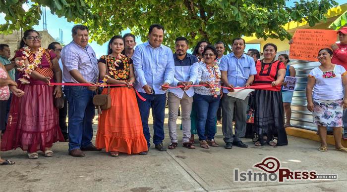 23 Oct Juchitán inauguración pavimentación