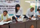 Firman DIF de Juchitán e IESIT convenio de colaboración
