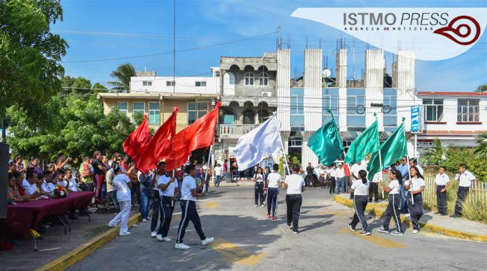 21 Nov Juchitán Acto Cívico1