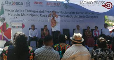 24 Nov Reconstrución casa de cultura Juchitán