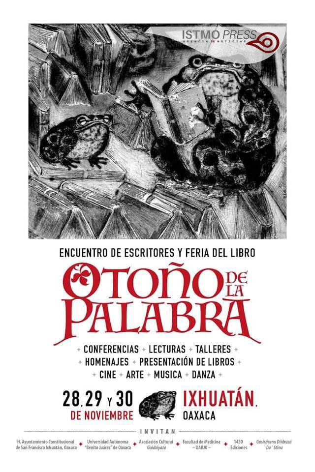 25 Nov Cartel Feria del libro