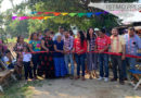 Entrega Gobierno de Juchitán obra de drenaje en callejón Ferrocarril