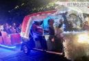 Don Jerónimo y su motoclaus alegran la navidad en Juchitán