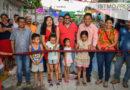 Inaugura Emilio Montero obra de pavimentación en Cheguigo