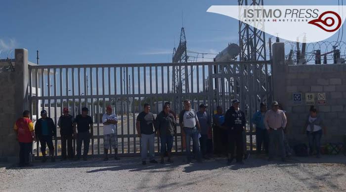 10 Ene Juchitán cierre subestación