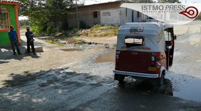 13 Ene Juchitán colapso drenaje1