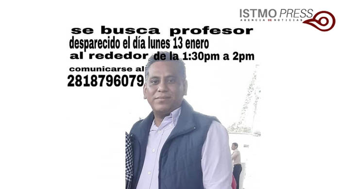 14 Ene Se busca profesor