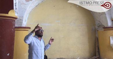 "24 Feb ""tesoros arquitectónicos"" en  restauración  de conjunto conventual en Tehuantepec"