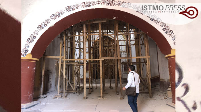 "24 Feb ""tesoros arquitectónicos"" en  restauración  de conjunto conventual en Tehuantepec2"
