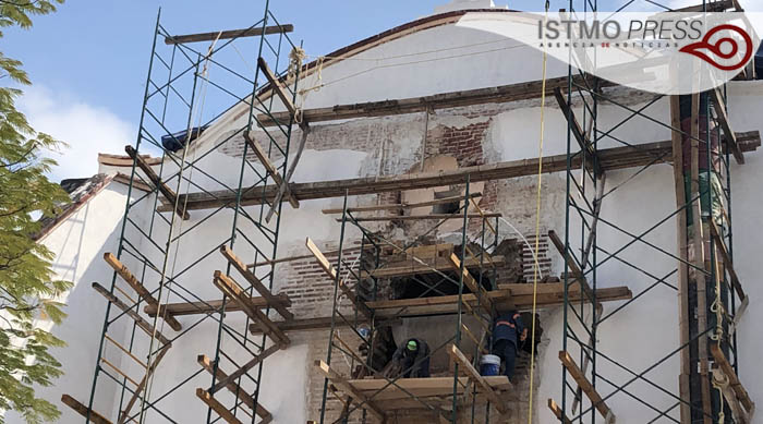 "24 Feb ""tesoros arquitectónicos"" en  restauración  de conjunto conventual en Tehuantepec3"