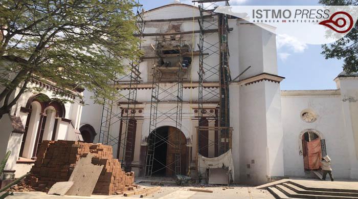 "24 Feb ""tesoros arquitectónicos"" en  restauración  de conjunto conventual en Tehuantepec4"