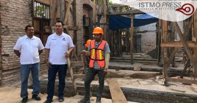 25 Feb Restauración casa de cultura Juchitán