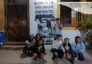 Construyen mural con fotografías para visibilizar la violencia infantil en Juchitán