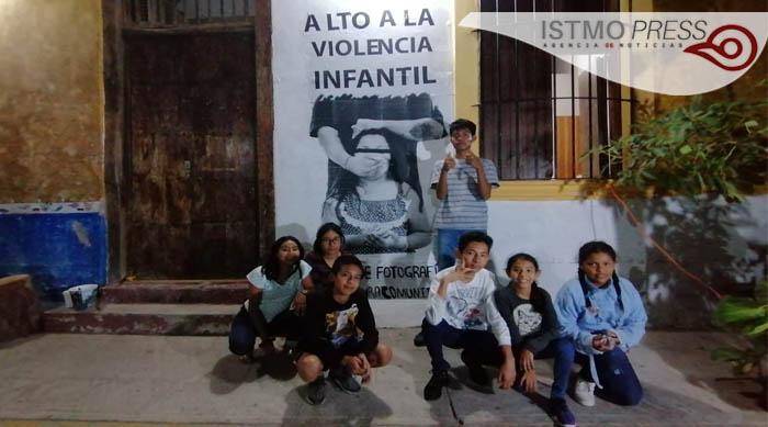 """01 Mar Foto murales """"Huellas  Comunitarias"""""""