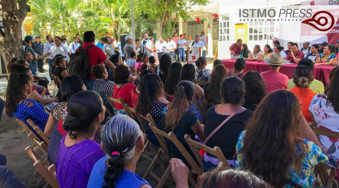 05 Mar Consejo municipal de la mujer Juchitán