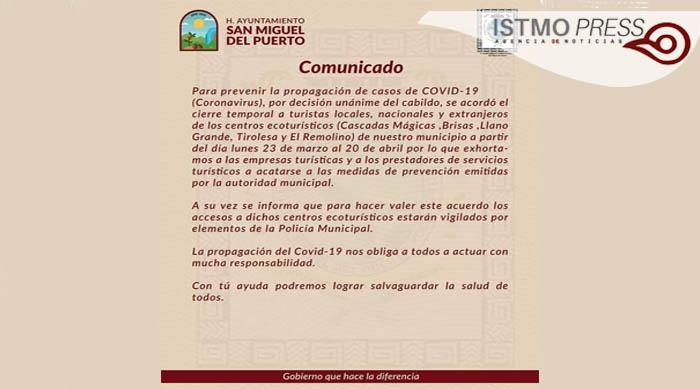 24 Mar Autoridades restringen accesos a pueblos de Oaxaca