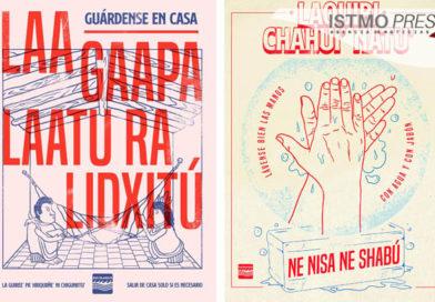 En zapoteco lanzan campaña para prevenir el COVID-19 en pueblos originarios de Oaxaca
