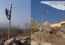 """Gobierno de San Blas Atempa da mantenimiento a luminarias en """"Cerro del Tigre"""""""