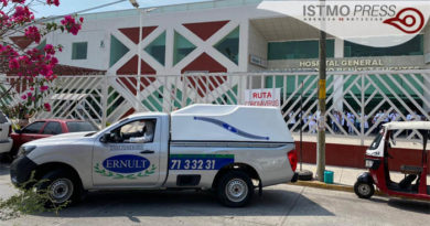 14 Abr Fallece trabajador de hospital Juchitán
