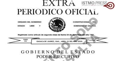 22 Abr El gobernador a través de un tercer decreto