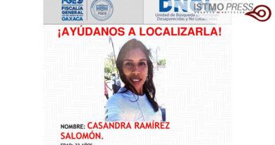 08 May desaparece en Tuxtepec Oaxaca