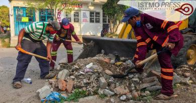 17 May Levantan escombro Juchitán