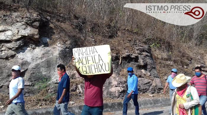 25 May  demandan  agua potable y  recursos para obras sociales en Guichixu