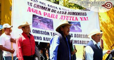 Tres años sin agua, tres años sin justicia Ayutla Mixe
