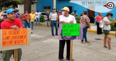 03 Jun Exigen reapertura de Bares y Cantinas en Salina Cruz