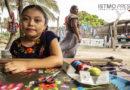 Implementan taller de bordado y tejido infantil en Santa Rosa de Lima para preservar su cultura