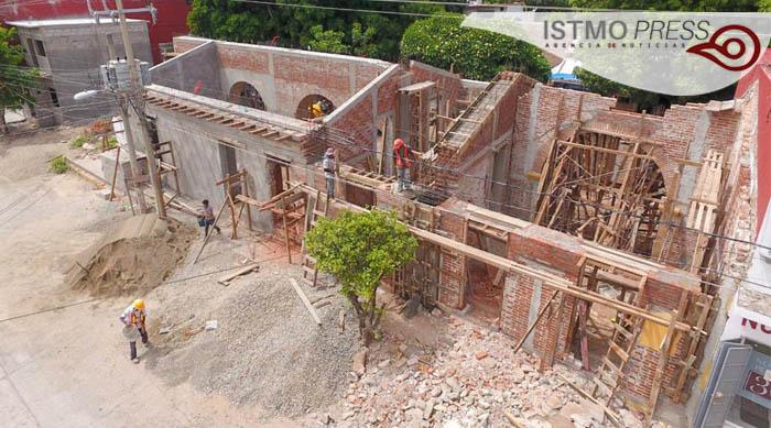 27 Jun 50% de avances en reconstrucción