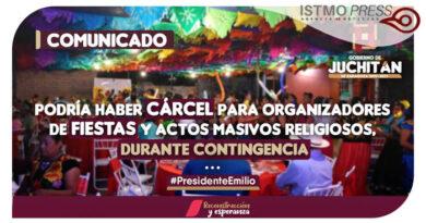 06 Jul Comunicado Juchitán